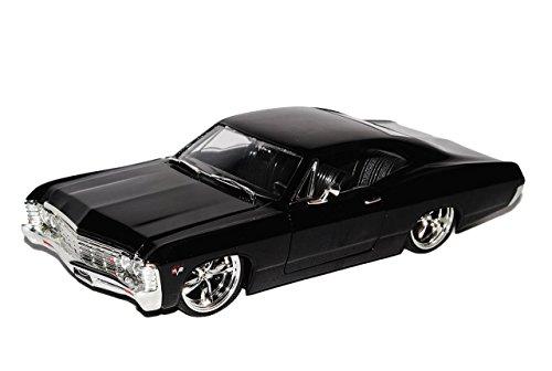 chevrolet-chevy-impala-coupe-schwarz-1967-1-24-jada-modell-auto-mit-individiuellem-wunschkennzeichen