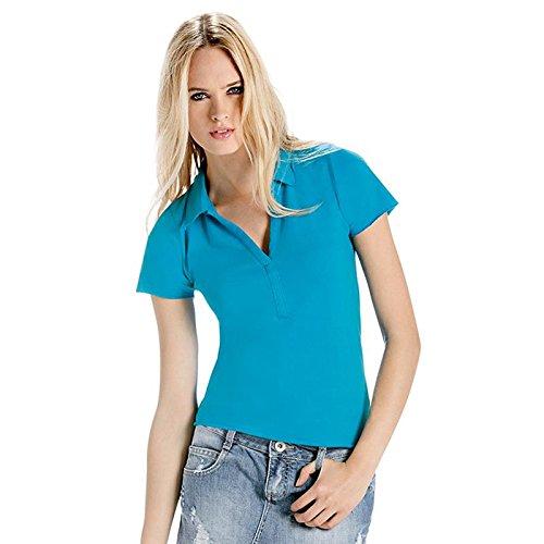 B&C CollectionDamen T-Shirt Schwarz - Schwarz