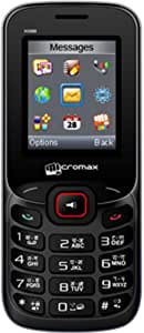 Micromax X088 (Black-Red)