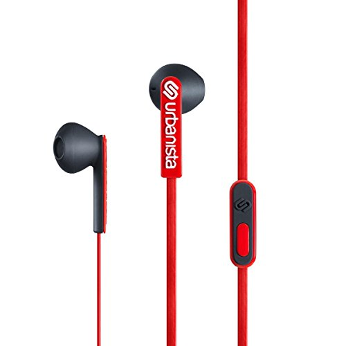 Urbanista San Francisco - Auriculares in-ear M/L, rojo