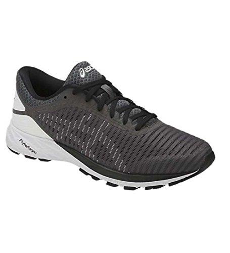 ASICS Mens Dynaflyte 2 Running Shoe 2 Carbon/White/Black Size 8