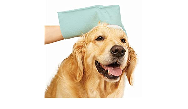 JML Pet Fresh Wash Mitts Stress-free pet cleaning for cleaning your dog on-the-go