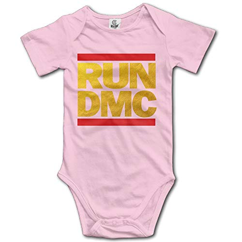 Hip Hop Run DMC Infant Bodysuit Romper Jumpsuit Outfits Onesies 12 Months (Run Dmc Outfit)