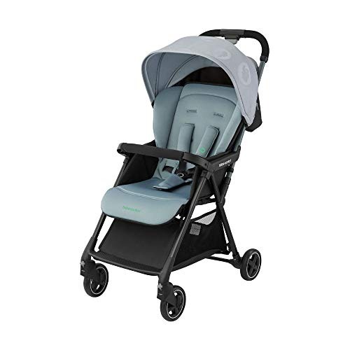 Bébé Confort Diza 'Brave Grey'- Silla de paseo plegable con una Sola mano y multifuncional, ultraligera 4, 7 kg, desde El nacimiento hasta Los 3, 5 años, color gris