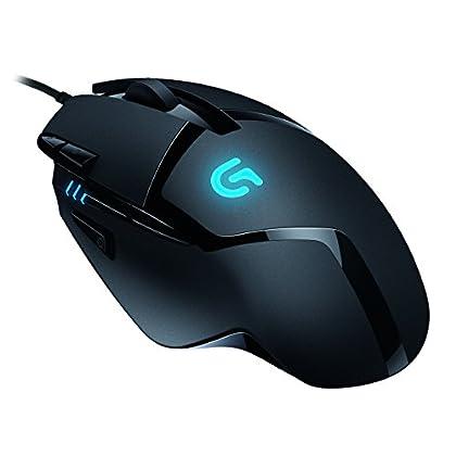 Logitech G402 - Ratón para gaming (con 8 botone...
