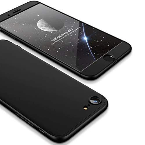 Funda iPhone 7,Funda iPhone 8 Ttimao PC Hard Case [Película de Cristal...