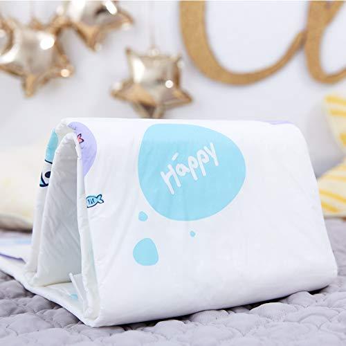 Bella Baby Happy Wickelunterlagen 60 x 60 cm, 2er Pack (2 x 30 Stück) - 2