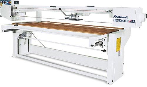 Holzkraft Langbandschleifmaschine LS 2500 und 3000 - Abmessung des- Arbeitstisches: 3000 x 910 mm, Abmessung des- Schleifbandes: 8100 x 150 mm, Abmessung: 4540 x 1510 x 1510