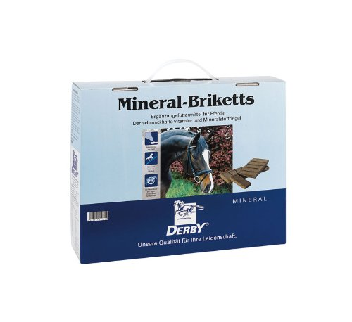 Preisvergleich Produktbild DERBY Mineral-Briketts Koffer 6, 0kg