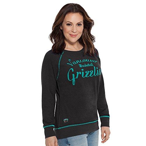 NBA Damen Sweatshirt Atlanta Hawks Dugout Reversible Pullover, Damen, Touch Dugout Reversible Sweatshirt, schwarz, Medium - Reversible Damen-pullover