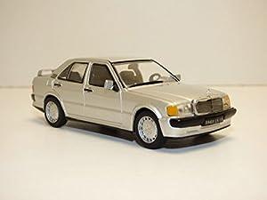Solido-Mercedes-190E (W201)-1984Coche de ferrocarril de Collection, 4302700, Plata