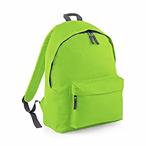 Bag Base – Mochila junior Fashion escuela Loisirs – BG125J – verde citron- 14L – niño