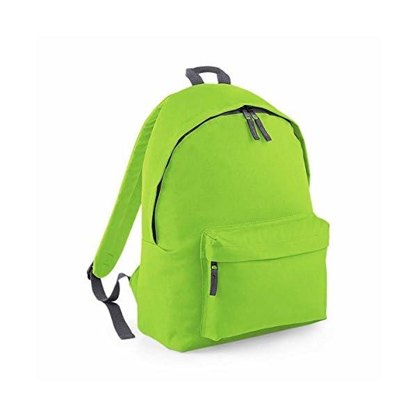 41j6xMhOX L. SS600  - Bag Base–Mochila junior Fashion escuela Loisirs–BG125J–verde citron- 14L–niño