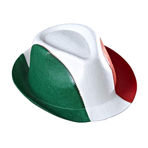 Widmann - Partyhut Italien (Karneval Kostüm Italien)