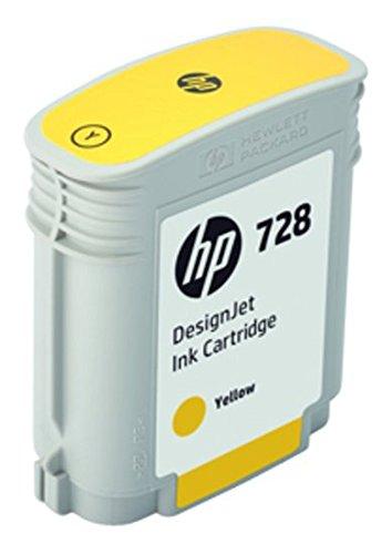 HP 728 F9J61A Cartouche d'encre d'origine Jaune