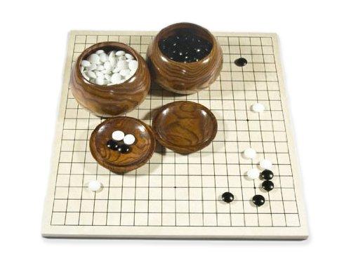 Go-Spiel: Studenten-Go-Set Deluxe (mit Glassteinen)