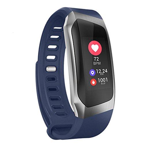 OPAKY Armband-Blutdruckmessgerät Blutsauerstoff-Herzfrequenzmonitor Smart Watch für Muttertagsgeschenk