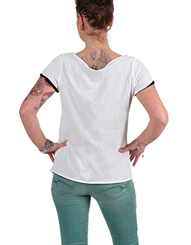 VERO MODA -  T-shirt - Maniche corte  - Donna Bianco