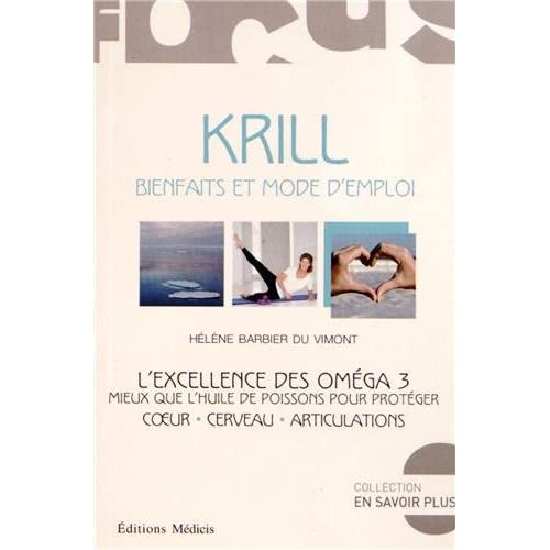 Krill : Bienfaits et mode d'emploi