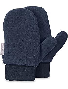 Sterntaler - Jungen Fäustlinge Handschuhe Fleece, jeansblau - 4301620
