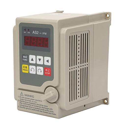 Einphasen-Wechselrichter, einphasiger Eingang/dreiphasiger Ausgang Wechselrichter mit variabler Frequenz von 220 V für Drehstrom-Asynchronmotoren mit 1,5 kW