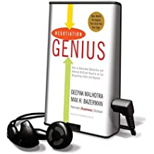 Negotiation Genius: How to Overcome Obstacles and Achieve Brilliant Results at the Bargaining Table and Beyond [With Headphones] (Playaway Adult Nonfiction)