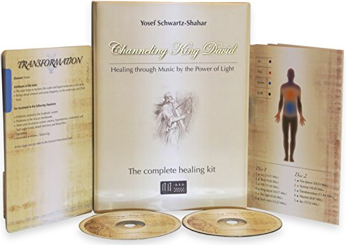 Channeling King David - A complete therapy CD kit, based on the Healing Through Music 'HTM' method - An ancient modal frequency for deep body and soul healing, bring happiness and health to your life.