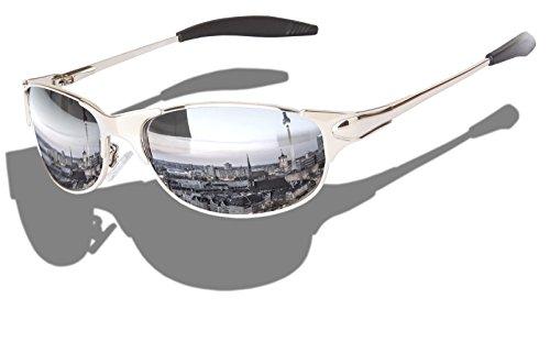 Matrix Sport Sonnenbrille Radbrille Spiegelbrille Brille (Viper Matrix chrom)