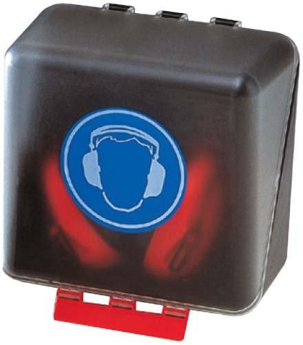 Sicherheits-Box für Gehörschutz 236x120x120 mm transparent