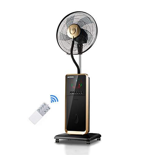 GXYAWPJ Ventilador Eléctrico, Ventilador De Piso Rociado, Control Remoto En El Hogar, Enfriamiento...