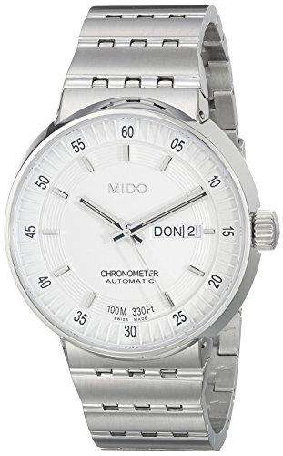 Mido Herren-Armbanduhr XL All Dial Analog Automatik Edelstahl M83404B111