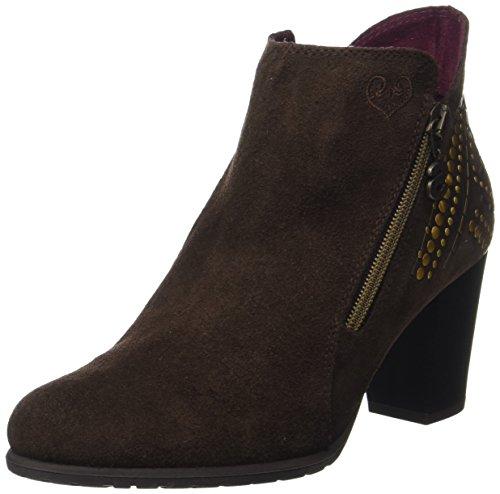 Desigual Shoes_Frida Studs, Stivali Chelsea Donna, Marrone (Chestnut), 39 EU