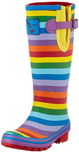 Evercreatures Womens Rainbow Wellington Boots