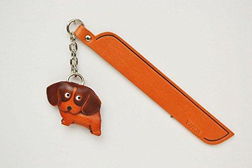 Beagle Leder Hund Charm Lesezeichen Vanca handgefertigt in Japan... -