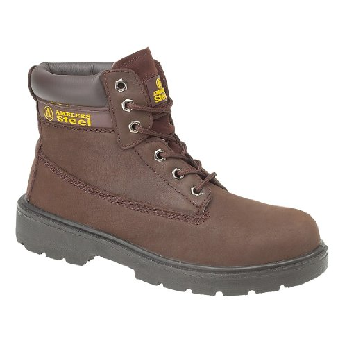 Amblers Steel FS113 - Chaussures montantes de sécurité S1-P - Homme brown