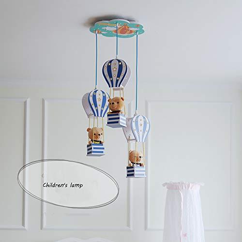 Heißluftballon Thema Nordic Modernen Minimalistischen Kinderlampe Kinderzimmer Lampe Junge Mädchen Schlafzimmer Lampe Kronleuchter Beleuchtung 115 * 42 cm - Mädchen-kinderzimmer-thema