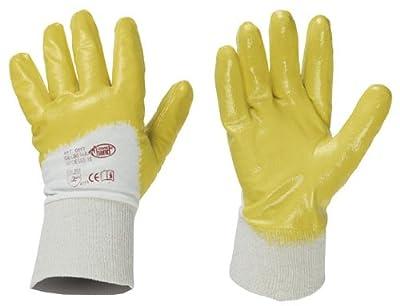 10 Paar Stronghand Nitril - Handschuhe 05161 Abriebfest Robust Flexibel Handrcken Frei von Stronghand