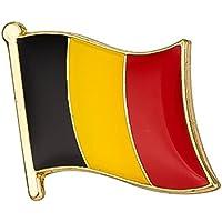 Bandera de Bélgica Metal Pin badge