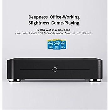 Mini PC Barebone CPU Intel I5-5200 8 GB MEMORIA SSD mSATA 128 GB - Case de ...
