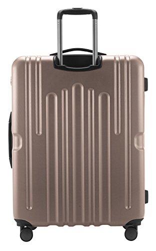 HAUPTSTADTKOFFER - Havel - Hartschalen-Koffer Koffer Trolley Rollkoffer Reisekoffer, TSA, 73 cm, 111 Liter, Gold - 5