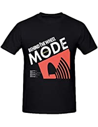 Depeche Mode Behind The Wheel Mens Funny t shirts O Neck XXXX-L