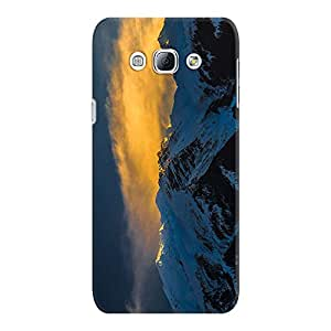 DailyObjects Sunny Snowy Peaks Case For Samsung Galaxy A8