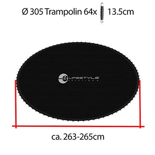 L-T-305 - Tapis de Saut - Pour le Trampoline 3,05 m - Pour le 64 Ressort - Diametre ca. 263cm