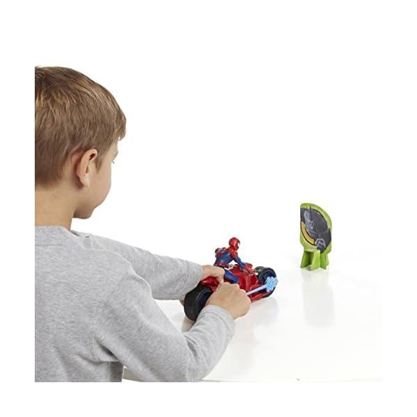 Marvel Ultimate Spider-Man - Web Slingers Racers - araña araña Speedster 5