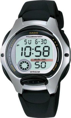 CASIO Collection LW-200-1AVEF - Reloj de mujer de cuarzo, correa de resina...