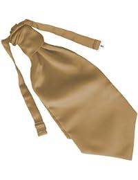 Herren Satin Ruche Krawatte - Verschiedene Farben