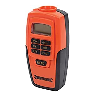 Silverline 255664 Digital Range Measure, 0.6-15 m