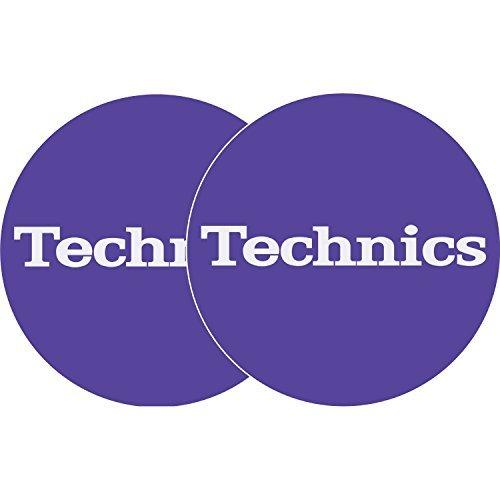 Slipmats Technics Lila/Purple - Logo Weiss (1 Paar) Slipmat Factory