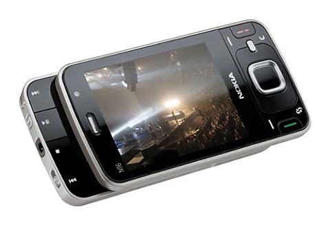 Nokia N96 Smartphone (UMTS, WLAN, A-GPS, Live-TV, Organizer, Kamera mit 5 MP) grau