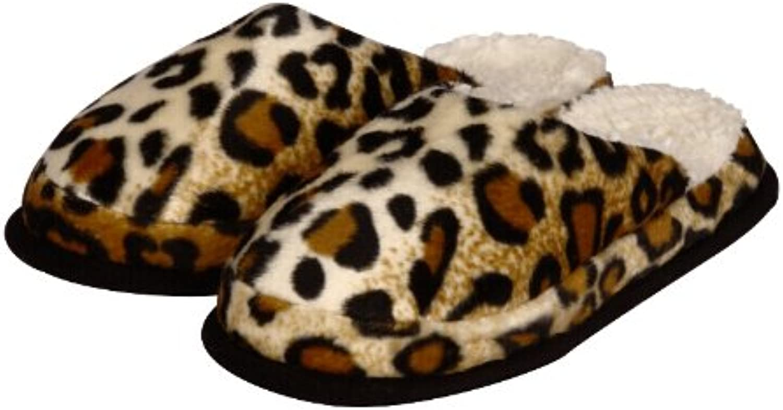 Pantoffeln Sogi in Gepardoptik, 100 % Polyester, Farbe Gepard